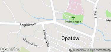 Brama Warszawska – mapa