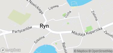Zamek Ryn – mapa
