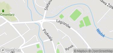 Muzeum Podkarpackie – mapa