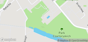 Pałac Czartoryskich – mapa