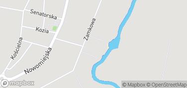 Zamek w Liwie – mapa