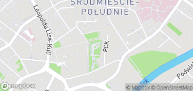 Fontanna multimedialna – mapa