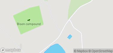 Zagroda żubrów – mapa