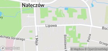 Aleja Lipowa - zabytkowe wille – mapa