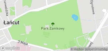 Park Zamkowy – mapa