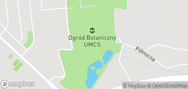 Ogród Botaniczny – mapa