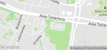 Zamek w Lublinie – mapa