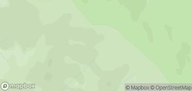 Bieszczadzki Park Narodowy – mapa