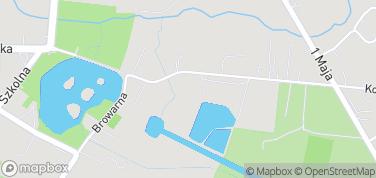 Zwierzyńczyk - park – mapa