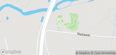 Jurajski Park Dinozaurów (Muzeum Dziejów Ziemi) – mapa