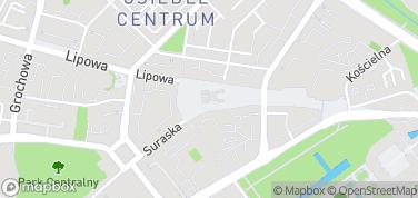 Rynek Kościuszki – mapa