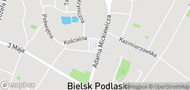 Ratusz w Bielsku Podlaskim – mapa