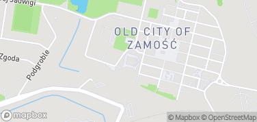 Katedra Zamojska – mapa