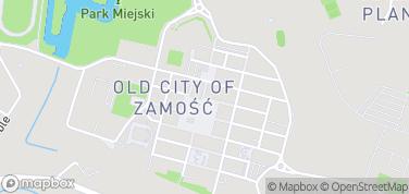 Muzeum Zamojskie – mapa