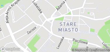 Chełmskie Podziemia Kredowe – mapa