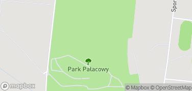 Park Pałacowy – mapa