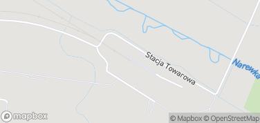 Białowieskie Drezyny – mapa