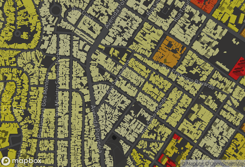Mapa Densidade x Verticalização