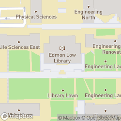 Map of Edmon Low Library