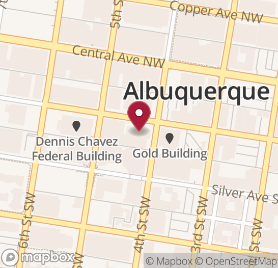 Map showing location of next Code for ABQ event