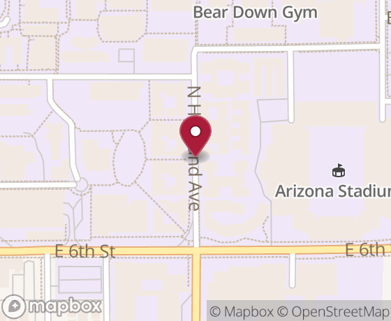 Map showing location of next Code for Tucson event