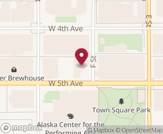 Map showing location of next Code for Anchorage event