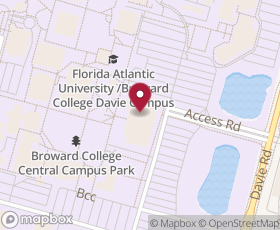 Map showing location of next Code for Fort Lauderdale event