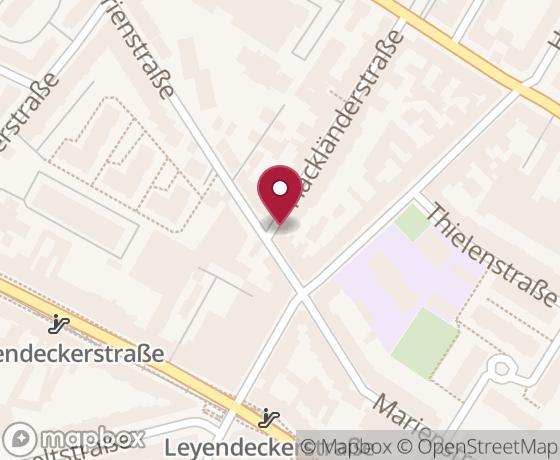 Map showing location of next OK Lab Köln event