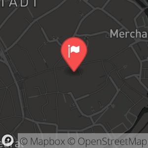 Landkarte/Stadtplan für: Silvesteraufführung 2012/2013 - Don Quichotte | Marktstr. 6, 99084 Erfurt