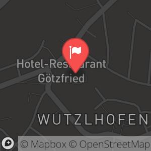 Landkarte/Stadtplan für: Feuerwerk und Champagnerlaune | Wutzlhofen 1, 93057 Regensburg