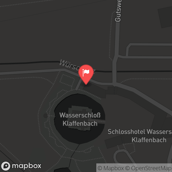 Landkarte/Stadtplan für: Wasserschloss Klaffenbach   Wasserschloßweg 6, 09123 Chemnitz