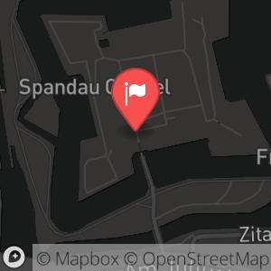 Landkarte/Stadtplan für: Silvesterparty 2014/2015 auf der Zitadelle Spandau | Am Juliusturm 64, 13599 Berlin