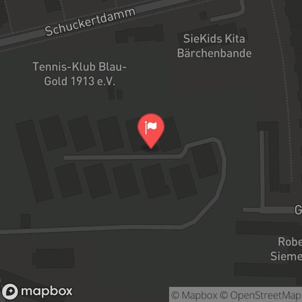 Landkarte/Stadtplan für: Hamburger Hafenbarkasse Sylvia | Fasanenweg 7, 13629 Berlin