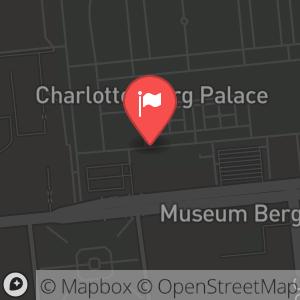 Landkarte/Stadtplan für: Berliner Residenz Konzerte | Spandauer Damm 22-24, 14059 Berlin