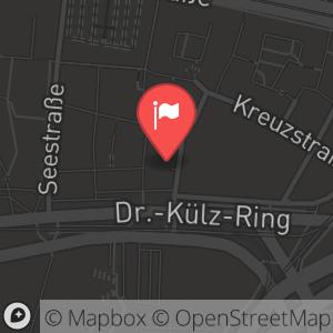 Landkarte/Stadtplan für: Silvester-Orgelkonzert 2012/2013 in der Kreuzkirche | An der Kreuzkirche 6, 01067 Dresden