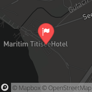 Landkarte/Stadtplan für: Silvesterabend 2014/2015 im Maritim TitiseeHotel | Seestraße 16, 79822 Titisee-Neustadt