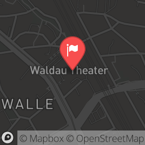 Landkarte/Stadtplan für: Silvester im Waldau Theater Bremen | Waller Heerstraße 165, 28219 Bremen