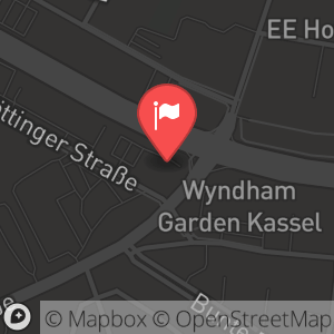 Landkarte/Stadtplan für: Silvesterparty im Cafe Del Sol in Kassel | Göttinger Straße 33, 34123 Kassel
