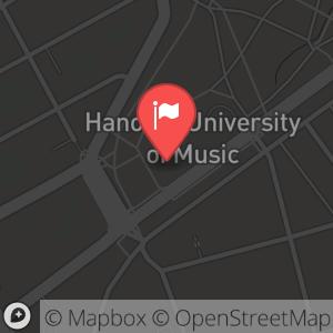 Landkarte/Stadtplan für: Silvesterkonzert 2012/2013 am Mittag   Emmichplatz 1, 30175 Hannover