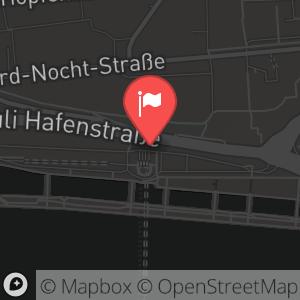 Landkarte/Stadtplan für: Silvester 2010/ 2011 im Hamburger Hafen | Bei den St.Pauli Landungsbrücken 8, 20359 Hamburg