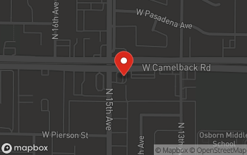 Map of 1345 West Camelback Rd. in Phoenix
