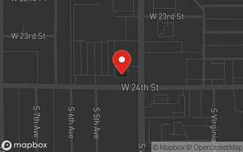 Map of 2380 S 4th Ave in Yuma
