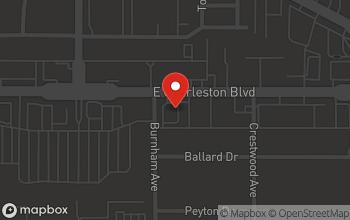 Map of 1900 E. Charleston Blvd. in Las Vegas