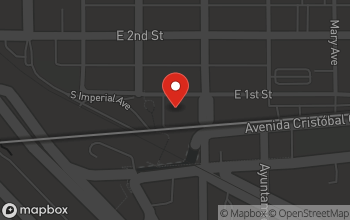 Map of 232 First St in Calexico