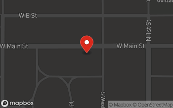 Map of 240 West Main in Brawley