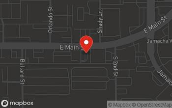Map of 1261 East Main Street in El Cajon