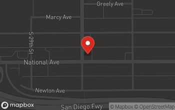 Map of 931 S. 30th Street in San Diego