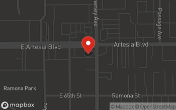 Map of 3490 East Artesia in Long Beach