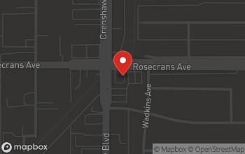 Map of 14306 Crenshaw Blvd. in Gardena