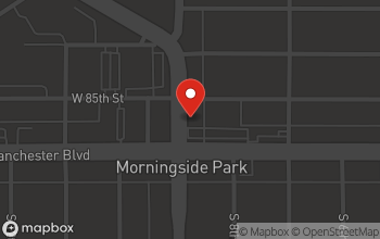 Map of 8500 Crenshaw in Inglewood